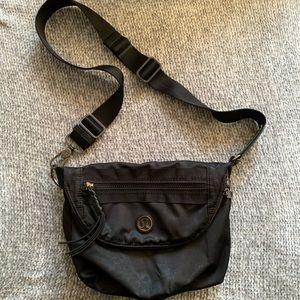 Lululemon All Night Festival Bag Black Crossbody